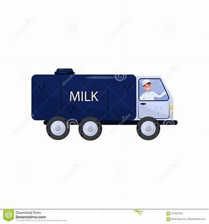 Milk Truck Tanker Toy Cartoon Tank