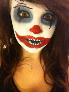 Images Of Scary Clown Face Paint Golfclub