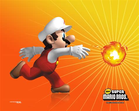 bureau boule fond ecran wallpaper mario bros jeuxvideo fr