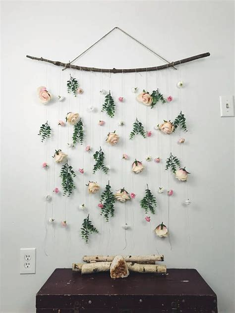Backdrop Wall Hanging by Flower Wall Hanging Hanging Flower Backdrop Floral