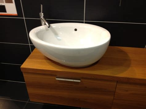 Bathroom Sink One Bowl Two Faucets