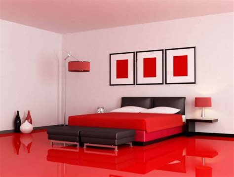 Red Bedrooms : Decorating With Red Accents