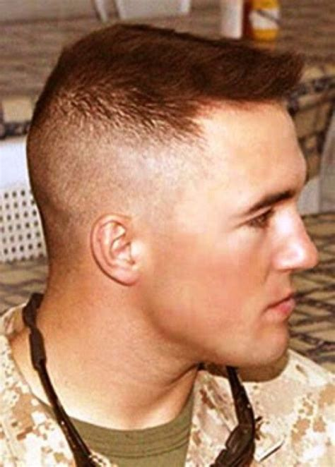 high  tight military hairstyles  men army haircut