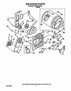 Dryer Wed5100vq1 Wiring Diagram