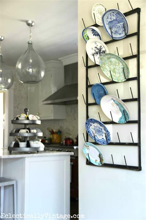 creative display ideas  wall bottle drying rack