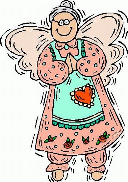 Grandma Clipart Clip Grandmother Granny Angel Angels