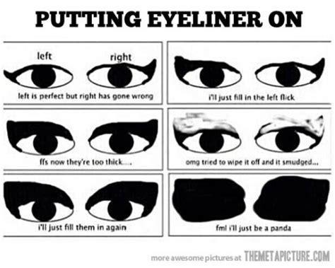 Eyeliner Meme - 8 pretty and funny makeup memes comediva