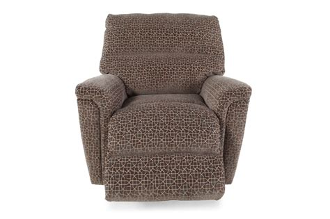 microfiber  rocker recliner  cocoa mathis brothers