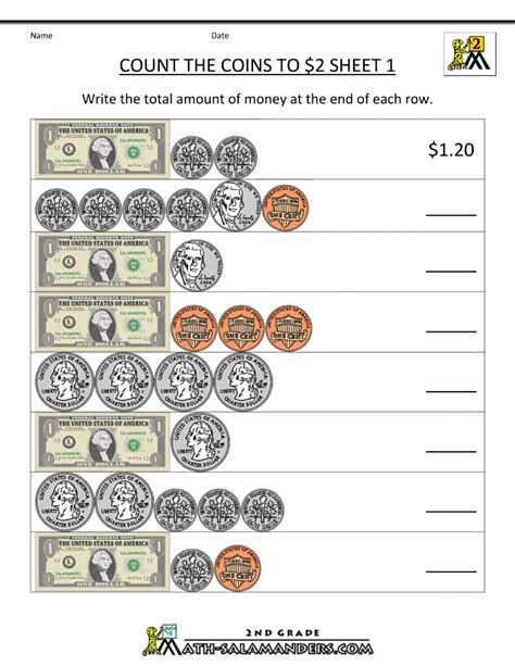 touch math counting money worksheets math cafe money