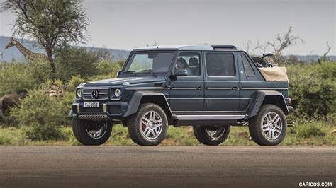 Having set the standards for luxury automobiles for almost a century, mercedes never rest on their laurels and continue to produce. 2018 Mercedes-Maybach G 650 Landaulet - Front Three ...
