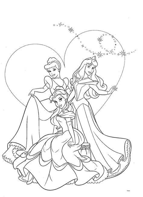 Gratis Kleurplaten Disney Prinsessen by Coloriage Disney Princesse Kleurplaten Prinses