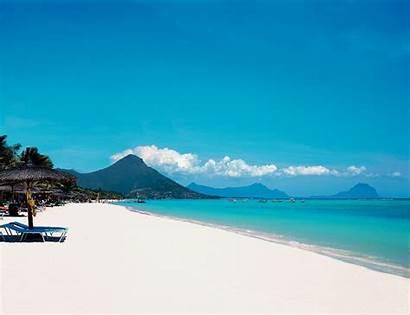 Mauritius Beaches Sandy Holidays Ocean Beach Travel