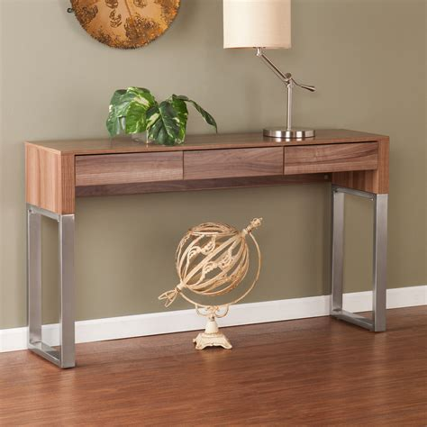 metal console table with drawers console table with drawers and shelves ideas white