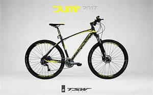 TSW anuncia a nova bicicleta Jump 29 2017