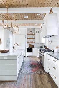 Dream, Kitchen, White, Wood, In, Houstonbecki, Owens