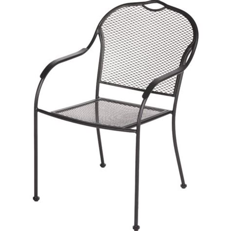 mosaic steel mesh stack chair academy
