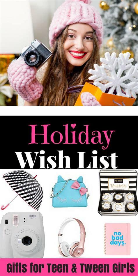 Best 25+ Teenage Girl Christmas List Ideas On Pinterest