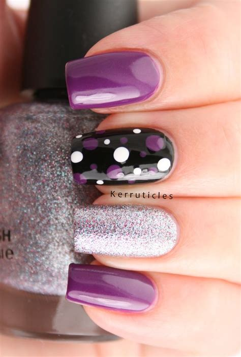 purple acrylic nails designs nail simple complicated spectacular polish brownish amethyst attending absolute aloof shine absolutely because looks these they