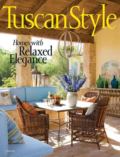 tuscan style magazine fleur de list home decor