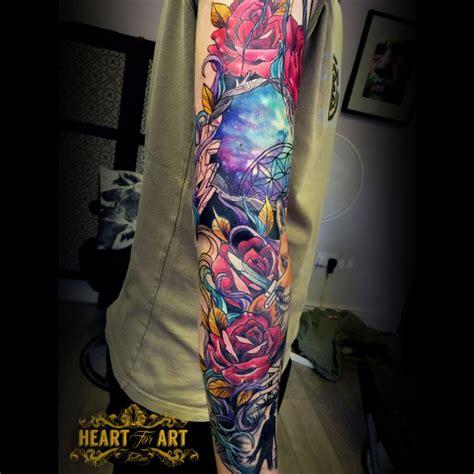 neo traditional sleevejpg portfolio heart  art