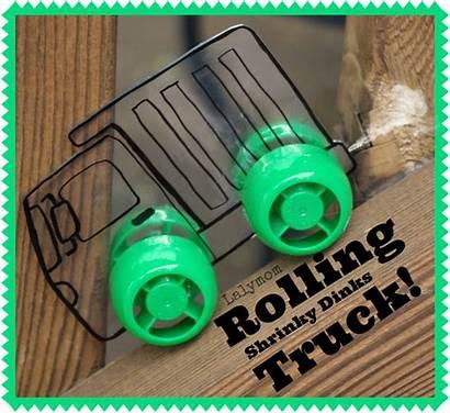 Truck Diy Craft Crafts Toys Shrinky Dinks