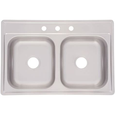 franke sink home depot franke drop in stainless steel 33x22x6 3 basin