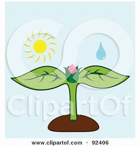 Royalty-Free (RF) Clipart Illustration of a Water Drop And ...