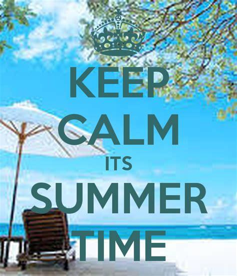 keep calm its summer time poster aismail21 keep calm o