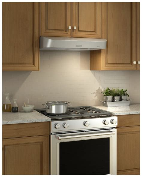 "Cldh130ss Broan Antero 30"" Under Cabinet Range Hood. Stainless Steel Kitchen Tiles. Kitchen Counter Lighting Fixtures. Kitchen Tile Backsplash Installation. Kitchen Islands Lighting"