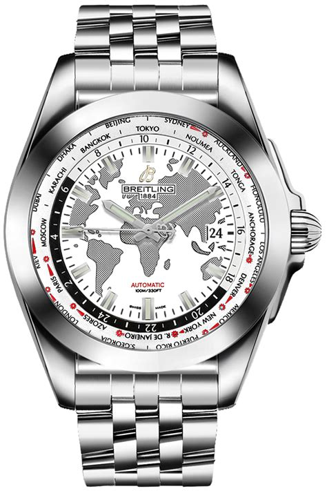 WB3510U0/A777-375A Breitling Galactic Unitime World Time ...