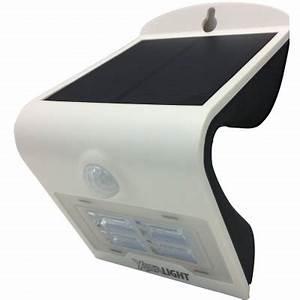 Projecteur Led Detecteur : projecteur led solaire 2w avec d tecteur eclairage ~ Carolinahurricanesstore.com Idées de Décoration