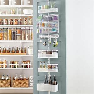 Elfa utility white mesh pantry door wall rack the for Kitchen cabinets lowes with nursery decor wall art