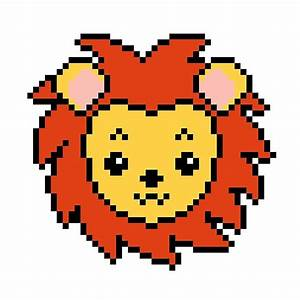 """""""Lion Head - Pixel Art"""" Posters by TheGayou Redbubble"""