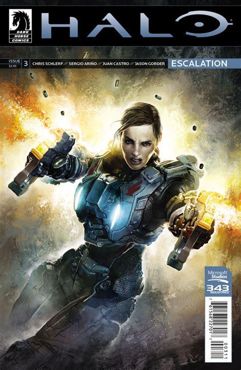 Halo Escalation 3 Profile Dark Horse Comics