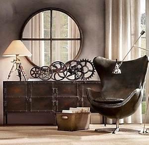Deco Style Industriel : objet deco vintage industriel ~ Melissatoandfro.com Idées de Décoration