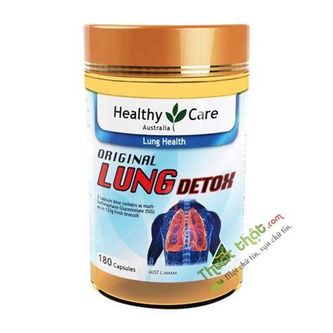 Viên Hỗ Trợ Thải Độc Phổi Healthy Care Original Lung Detox