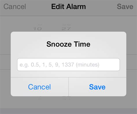 how is snooze on iphone snooze lets you establish custom snooze times for alarms