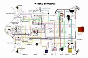 Wiring Diagram Vespa Super  Px  Dan Excell