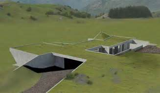 in ground homes design pictures michael hill s invisible houses get go ahead stuff co nz