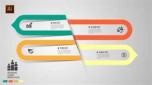 Free Modern Design Infographic Template Illustrator Cc