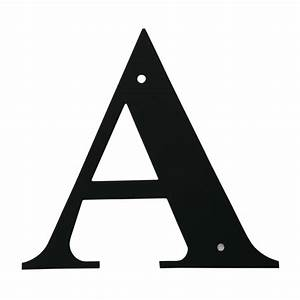 village wrought iron letter a large With large wrought iron letters