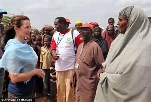 East Africa Drought Kristin Davis Visits Refugees As Un