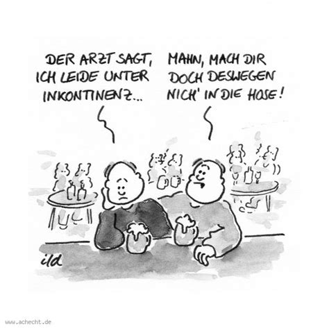 cartoon inkontinenz ach echt cartoons karikaturen und