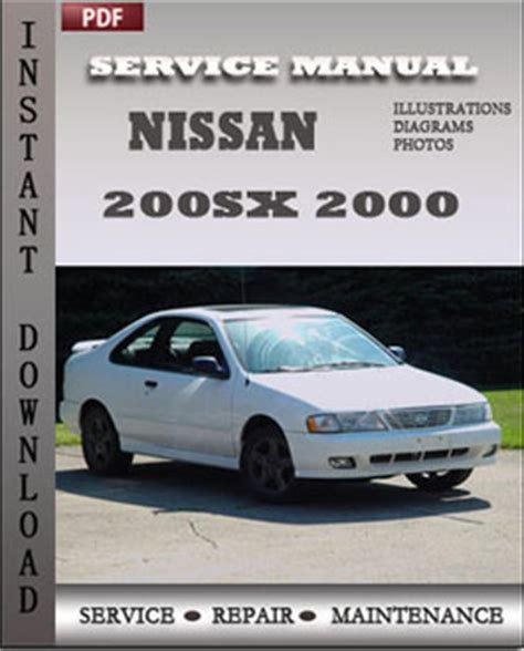 free car repair manuals 1997 nissan 200sx navigation system nissan 200sx 2000 repair manual download repair service manual pdf