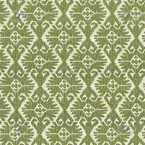 Green covering fabric geometric jacquard texture seamless