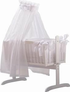 Baby Wiege Weiss : elegante wiege in wei in hochwertiger ausf hrung in dieser wiege schlummert ihr kind sicher ~ Orissabook.com Haus und Dekorationen