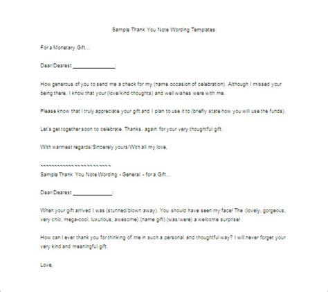 thank you letter for gift thank you letter for gift 8 free word excel pdf 20160