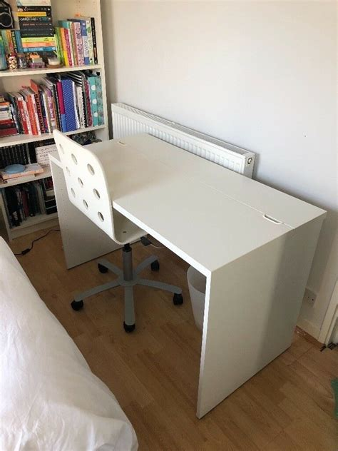 Ikea Besta Computer Desk by White Ikea Besta Desk Discontinued In Stoke Newington