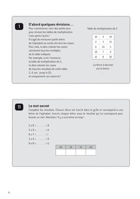 r 233 viser les tables en s amusant scop les editions buissonnieres livres scolaires partitions