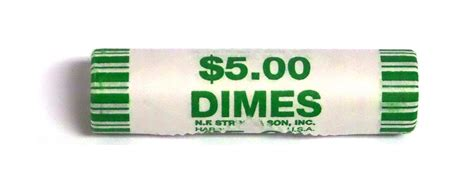 roll of dimes 2015 d roosevelt dime 50 coin roll